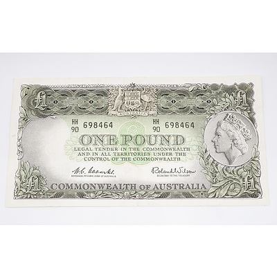 Australian One Pound Banknote