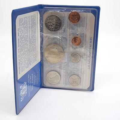 1978 New Zealand Souvenir Coin Set