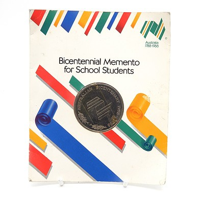 1988 Bicentennial Memento for School Students with Original Packaging
