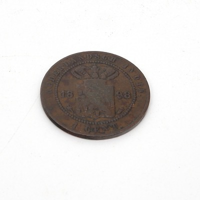 Netherlands East Indies One Cent 1898