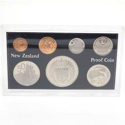 1976 New Zealand Proof Coin Set