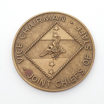 Vice Chairman Joint Chiefs of Staff Medallion