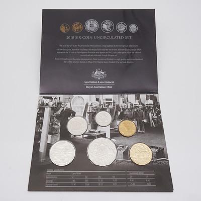 2010 Australia Six Coin Uncirculated Set