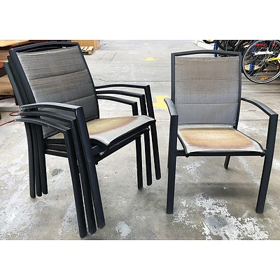 Four Outdoor Chairs