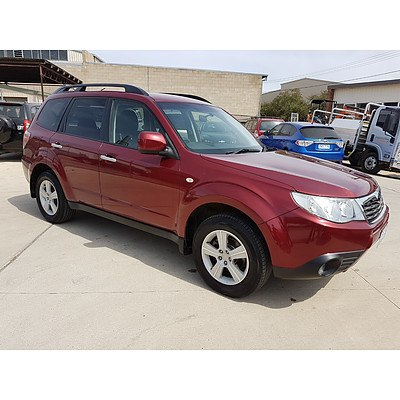 3/2009 Subaru Forester XS MY09 4d Wagon Red 2.5L