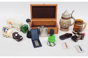 Vintage Avon Aftershave Bottles, Avon Stein, Bespoke Box and More