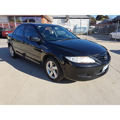 3/2005 Mazda Mazda6 Classic GG 05 UPGRADE 4d Sedan Black 2.3L