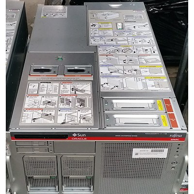 Sun Oracle SPARC Enterprise M4000 Quad SPARC64 CPU Server