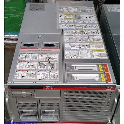 Sun Oracle SPARC Enterprise M4000 Quad SPARC64 CPU Server