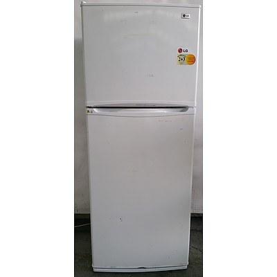 LG Exress Cool GR-391SCA 392Litre Fridge-Freezer