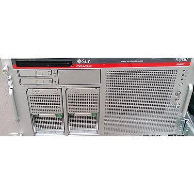 Sun Oracle SPARC Enterprise M4000 SPARC64 CPU Server