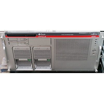 Sun Oracle SPARC Enterprise M4000 SPARC64 CPU Server