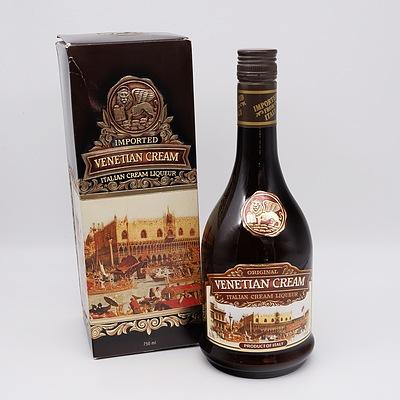 Original Venetian Cream Italian Cream Brandy Liqueur 750ml