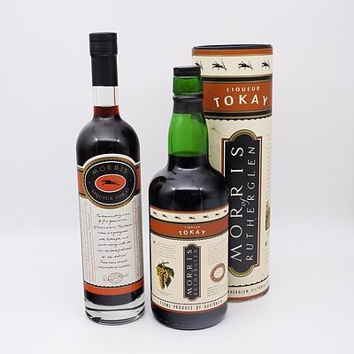 Two Bottles of Morris of Rutherglen Liqueur Tokay 500ml and 750ml