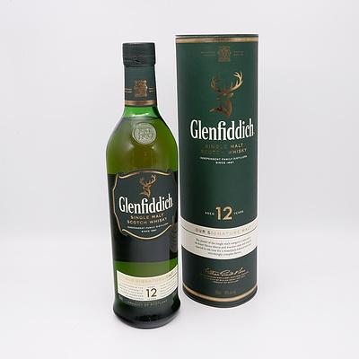 Glenfiddich 12 Year Single Malt Scotch Whisky 700ml