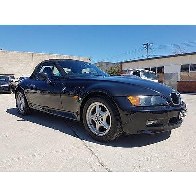 6/1998 BMW Z3  2d Roadster Black 1.9L