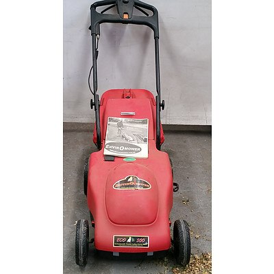 Electric Cordless Mower and Catcher