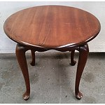 Antique Style Round Coffee Table