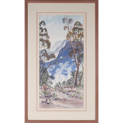 Diana Watson (1940-) Xanadu, Watercolour
