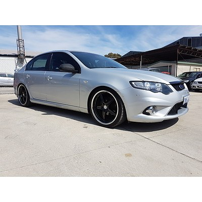 5/2011 Ford Falcon XR6 FG MK2 4d Sedan Silver 4.0L