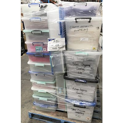 Assorted Fabric Table Overlays