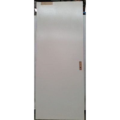 Solid Core Hinged One Hour Fire Door(2270mm x 910mm x 45mm)