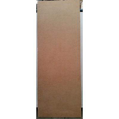 Corinthian Doors Solid Core MDF Hinged One Hour Fire Door(2230mm x 820mm x 35mm) - New
