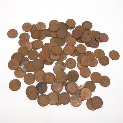 Group of Australian Half Pennies, Various Dates From 1916 to 1964