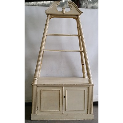 French Provincial Style Display Shelves