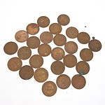 Twenty Six George V Australian Pennies