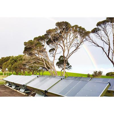 Make pure water from air with two Source Hydropanels - Valued at $7,700