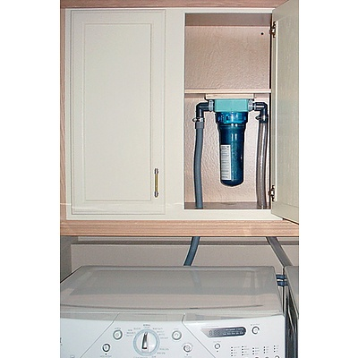 Lint LUV-R Microplastics filter (and wall mount) for your washing machine from Environmental Enhancements