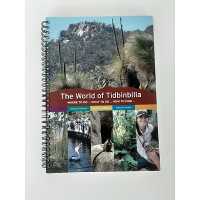 Book: The World of Tidbinbilla: Where to go ... What to do ... How to find ... edited by Wendy Rainbird, Jennifer Widdowson and Valerie Brown