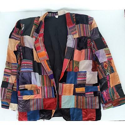 L85 - Multi-coloured Guatemalan Jacket