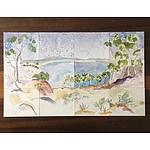 Painting: Australian landscape by Michele England