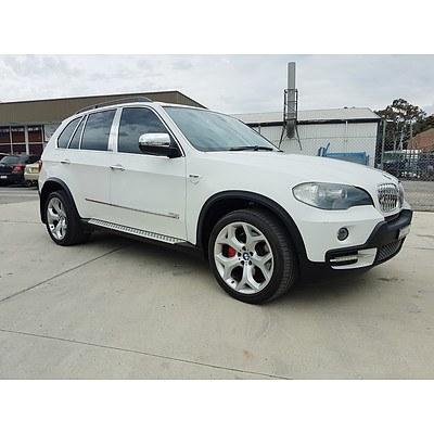 7/2008 BMW X5 3.0sd E70 4d Wagon White 3.0L