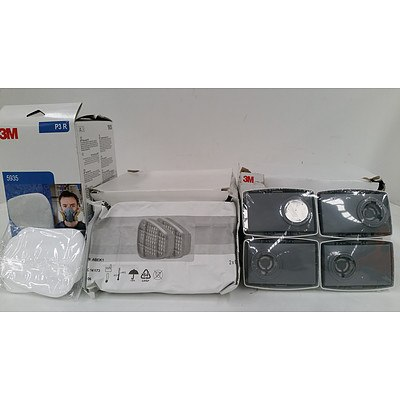 Three Pack of 3M Particulate Filters - New