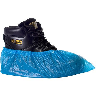 Supertouch CPE Disposable Overshoe Covers(40cm) - Lot of 600 - New