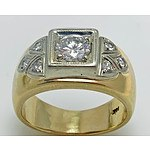Impressive Diamond Ring: 18Ct Gold