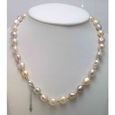 Fresh-Water Cultured Pearl Necklace