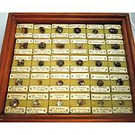 Fascinating Collection Of 29 All Different Facetted Natural Smoky Quartz Gems