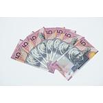 Seven 2001 Centenary of Federation $5 Notes, Varied Prefixes