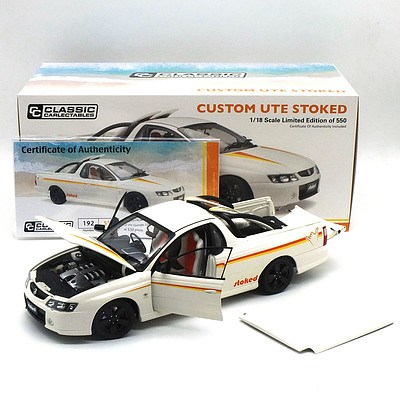 """Classic Carlectables - Holden VY SS Ute """"Stocked Ute"""" 192/550 1:18 Scale Model Car"""