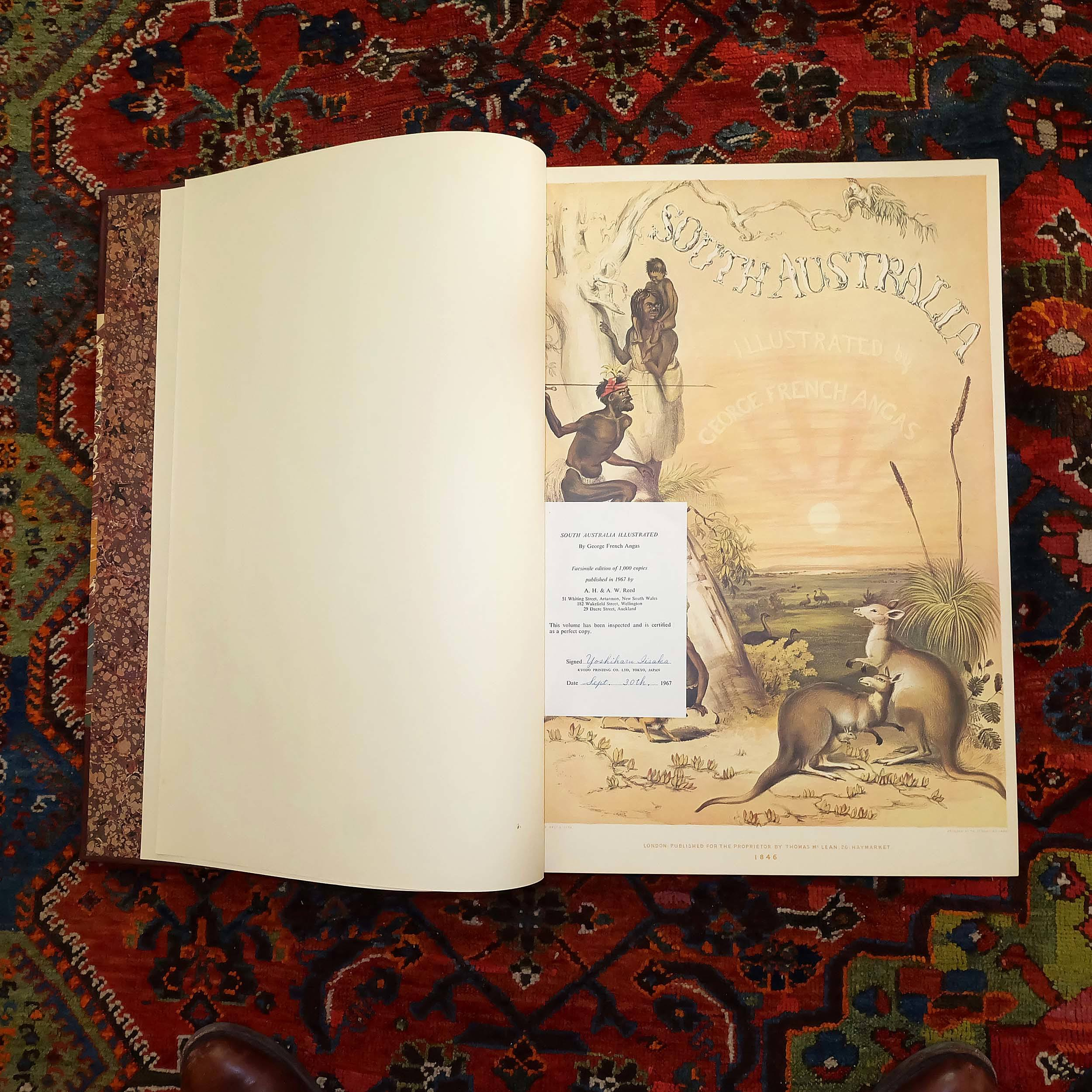 'A Limited Facsimile Edition of South Australia Illustrated by George French Angas'
