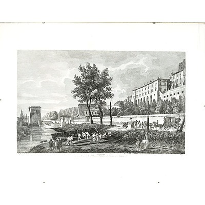 Engraving of Terracina