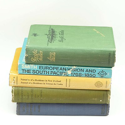 European Vision and the South Pacific 1768-1850 by Bernard Smith, Pacific Tales by Louis Becke and More