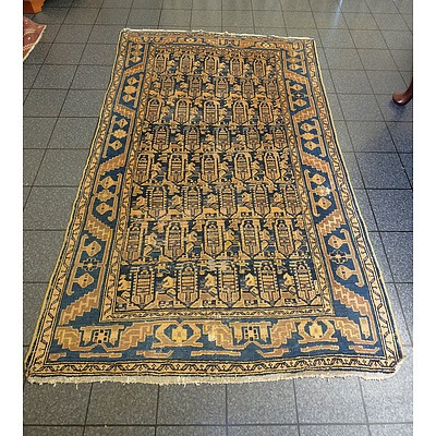 Hand Knotted Eastern Wool Pile Rug