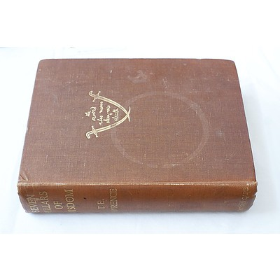 LATE ADDITION, T.E. Lawrence Seven Pillars of Wisdom Jonathon Cape London 1935
