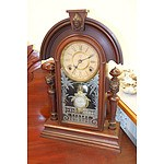 American Ansonia Mantle Clock with Adjustable Pendulum