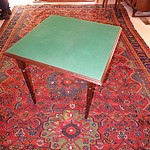 Vintage Mahogany Folding Card Table